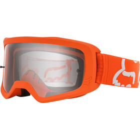 Fox Main II Race Brille Jugend fluorescent orange/clear